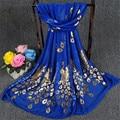 Moda chic Chi invierno bufanda mujeres pañuelo de algodón pañuelo de mujer marca de lujo echarpe hiver femme echarpes fulares chales bufandas