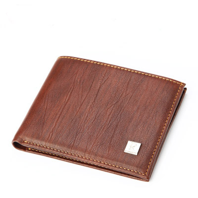 2018 Simple nouveau Design de luxe marque Vintage marron couleur hommes portefeuilles sac à main en cuir véritable sac livraison gratuite
