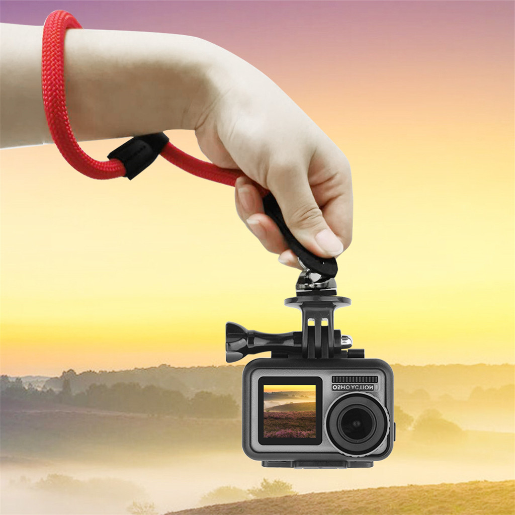 Image 2 - Portable Suitable Charging Safety Wrist Strap Hand Strap Lanyard Belt Grip Sling  For DJI OSMO ACTION convenient and practical-in Parts & Accessories from Toys & Hobbies