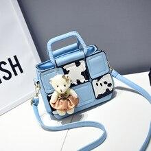 Mini PU Leather Women Crossbody Bags Rivet Vintage woman Shoulder Bag Designer Famous Brand Handbag Ladies Messenger Bags