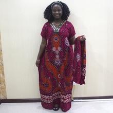Muslim Dress Abaya Arab Sequins Collar Caftan Dresses Dubai Classy Evening Attire with Scarf