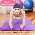 Directo de fábrica de 8mm Engrosada Longitud 183 CM Amplió NBR estera de yoga multifuncional deportes y fitness Pilates Mat almohadillas de protección