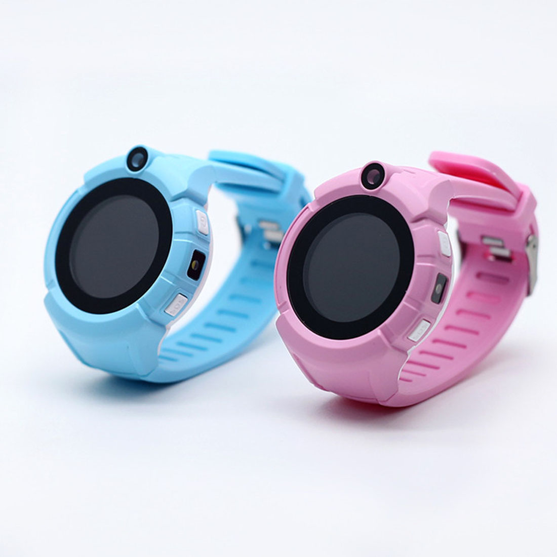 все цены на Q360 Kids Round Screen Smart Watch with Camera GPS WIFI Location Child smartwatch SOS Anti-Lost Monitor Tracker baby WristWatch онлайн