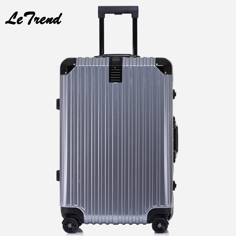 20'24'26'29' Aluminium Frame Unisex Fashion Travel Large Capacity High Quality Luggage Rolling Hardside Luggage Rolling Trolley