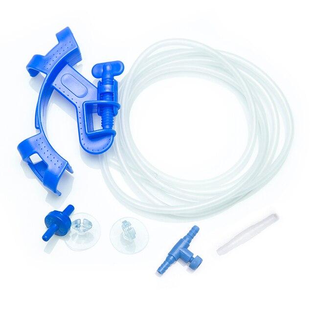 Aquarium Tool Set 5M Oxygen Tube 2x Sucker ID 5mm Air Switch OD