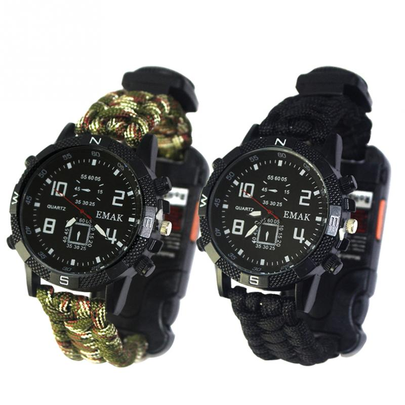 aeProduct.getSubject()  EDC Tactical multi Outside Tenting survival bracelet watch compass Rescue Rope paracord gear Instruments package HTB1lX0XFFuWBuNjSszbxh7S7FXas