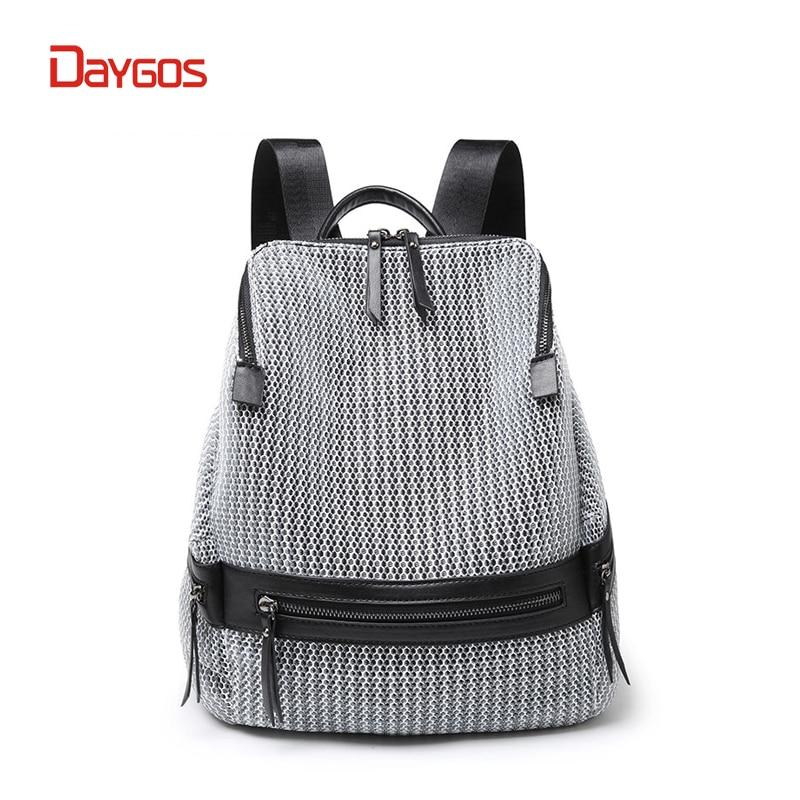 DAYGOS 2018 Nylon Backpack Women Fashion Women Backpack Large Capacity School Bags for Teenage Girls School Backpack Travel