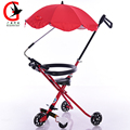 Baby stroller 2017 new Lightly simple folding children stroller Baby portable tricycle stroller  MG-0601