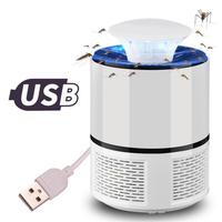 USB Electronics Mosquito Killer Trap Moth Fly Wasp LED Night Light Lamp Bug Insect Lights Killing Pest Zapper Repeller 110V/220V 2