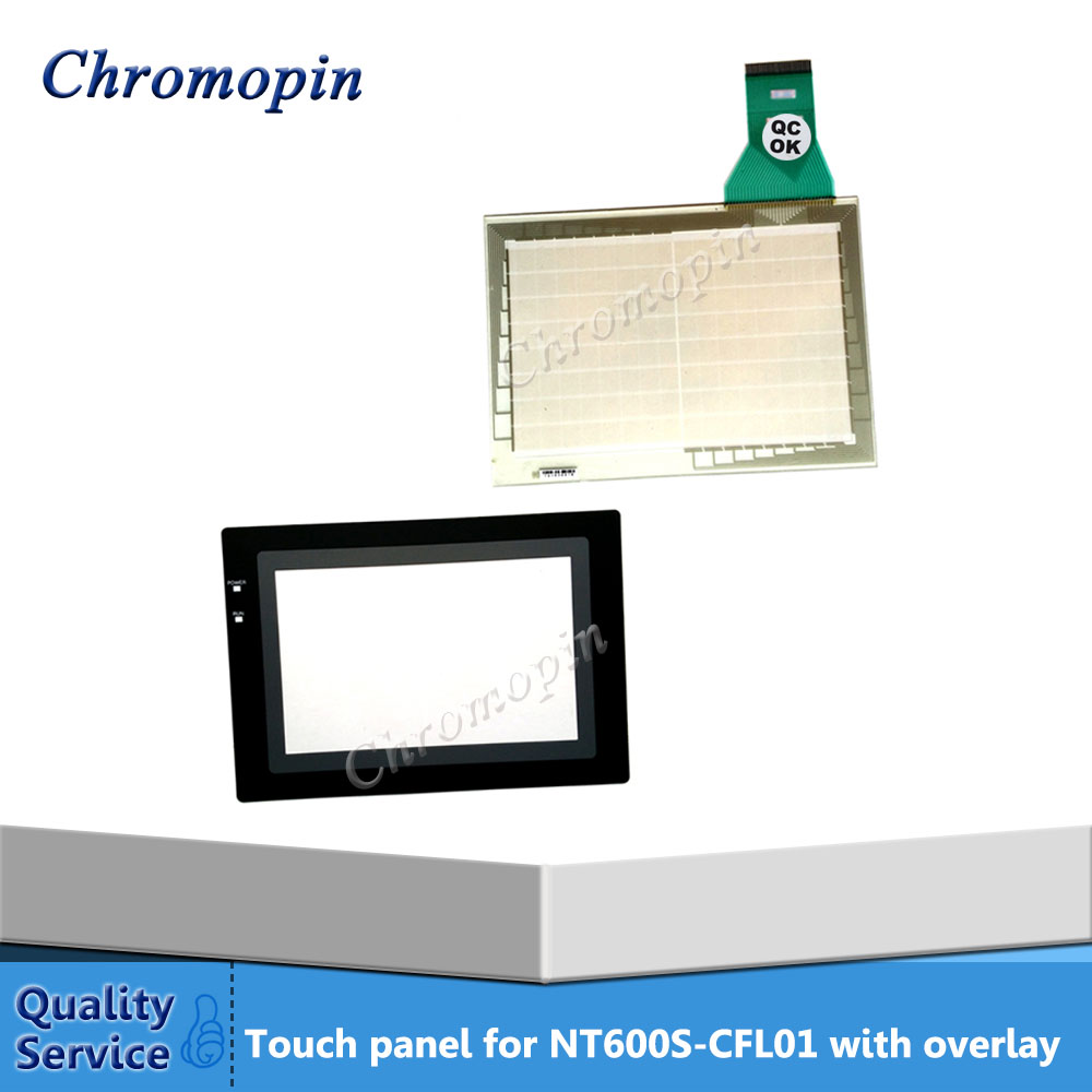 Touch panel screen for Omron NT600S-CFL01 NT600S-KBA01 NT600S-ST211-EV3 with Front overlay touch panel for omron nt631c cfl01 nt631c cfl02 nt631c kba05 nt631c kba05n