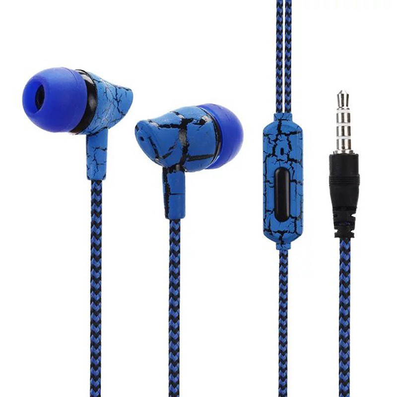 Wired Earphone 3.5mm In-Ear Earphone with Mic New Fashion Wire Stereo Music Earphone for IOS Android Phone High Quality crice hbs1100 hbs910 necklace bluetooth 4 1 high quality music earphone for android iphone