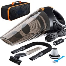 Car-Vacuum-Cleaner 4800pa Auto Portable 2-Hepa Strong-Power 120W with Handbag Wet/dry