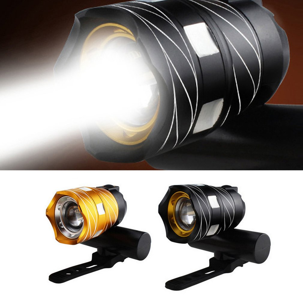 Waterproof <font><b>T6</b></font> <font><b>LED</b></font> <font><b>Bicycle</b></font> <font><b>Light</b></font> Bike Front Lamp Torch Headlight with USB Rechargeable Cycling <font><b>light</b></font> image