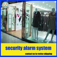 Fashion Clothing Store Sound And Light Security Alarm System Anti Shoplifting System RF8 2Mhz Eas System