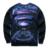 Mr.1991 marca nova primavera e Outono fina camisolas meninas grandes crianças engraçado 3D Magcal condutor basculador impressos hoodies menino W5