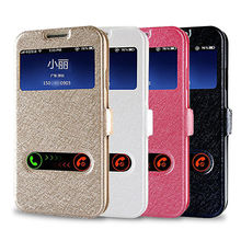 NEW Window View Leather Flip Cover For Samsung Galaxy J1 ,J5 ,J3 , J7 ,J5 Prime Case 2016
