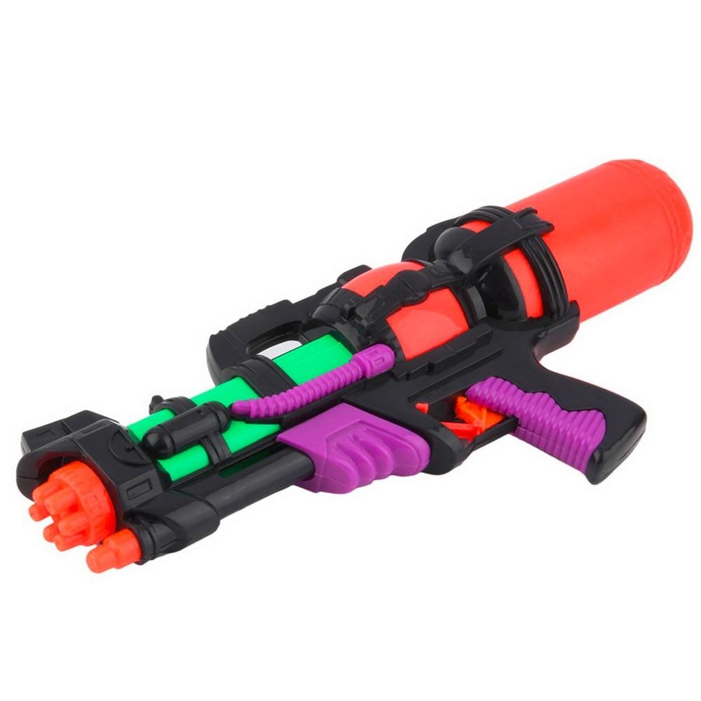 Plastic Water Gun Toys Pistol Inflatable Pressure Gun Outdoor Fun Sports Summer Beach Shooting Squirt Water Bullet Randomly Send