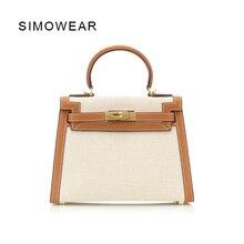 hot deal buy simowear 2017 leather bags women bolsa feminina  messenger bags  handbags women famous brands  hasp lock saca a main totes