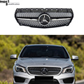Mercedes W117 diamonds radiator front grills grille mesh for benz CLA class  2013 2014 2015 CLA180 CLA 200