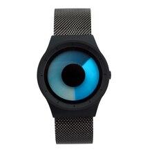 Роскошные брендовые высококачественные мужские Женская мода концепция дизайна часы пара из нержавеющей стали звездное небо спортивные наручные часы