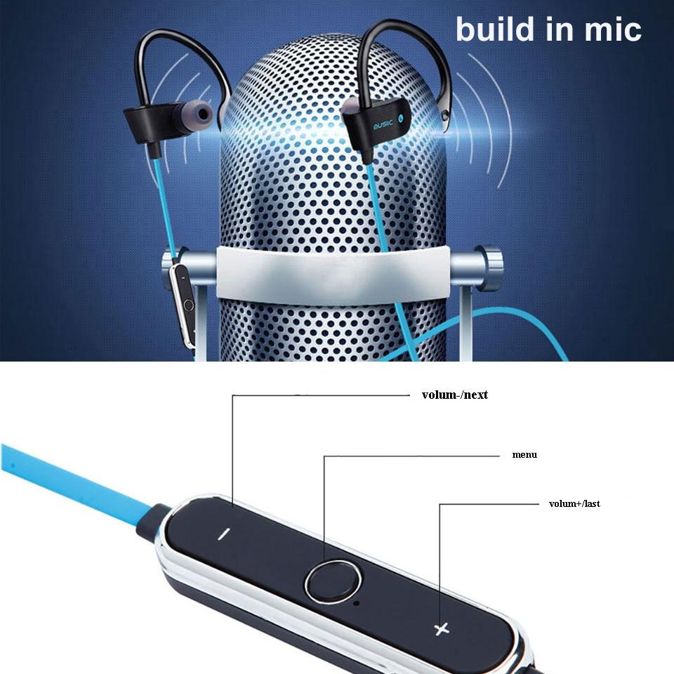 bluetooth earphone waterproof stereo handsfree headset ...