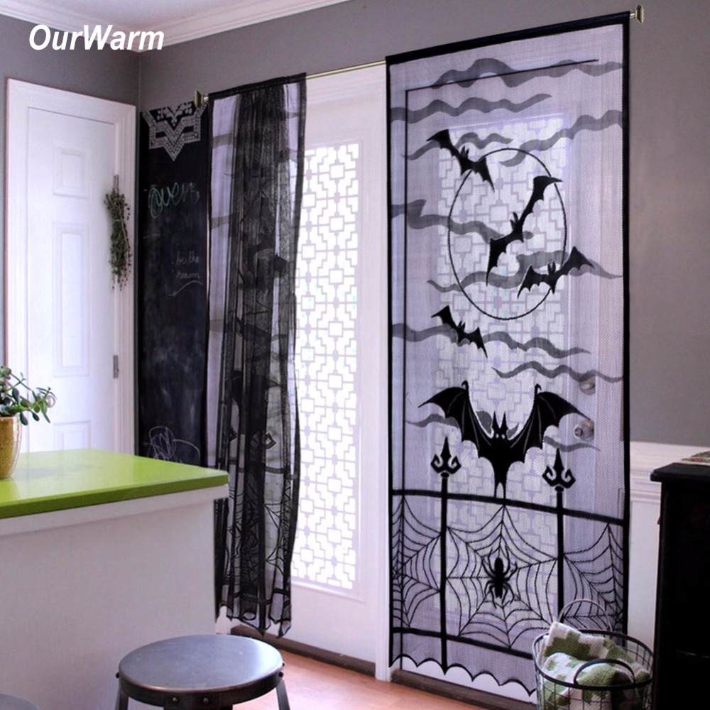 Buy ourwarm 1pc 40x84 inch halloween for Decoration porte classe halloween
