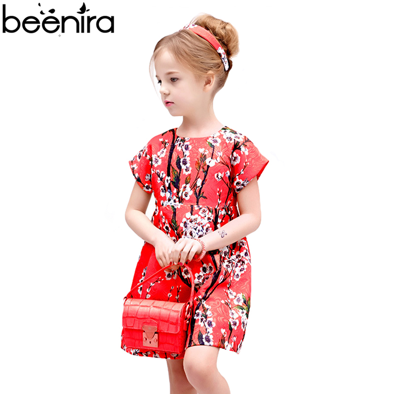 BEENIRA Girls Dresses Kids 3D Fabric Children Floral short sleeve princess Jacquard Clothing For Party All Seasons Match BEENIRA Girls Dresses Kids 3D Fabric Children Floral short sleeve princess Jacquard Clothing For Party All Seasons Match