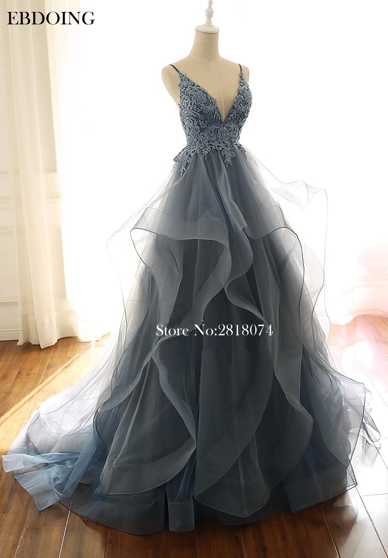Robe de soiree Elegant A-line Formal   Dresses   Strapless V-neck Vestidos de festa Backless Plus Size   Evening     Dress   Sexy Prom   dress