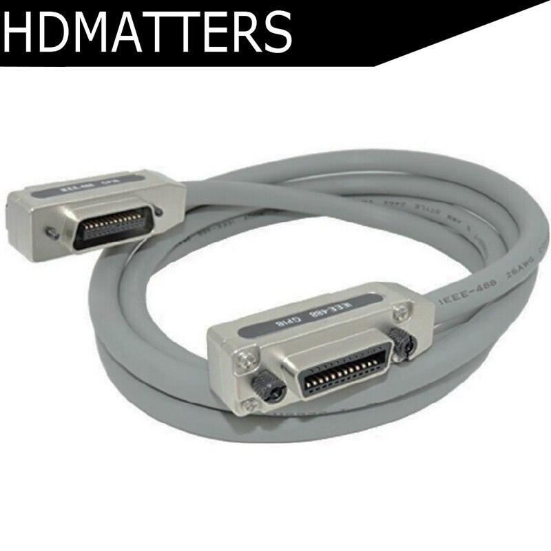 IEEE-488 кабель GBIP-Алюминий Никель покрытием снарядов 0,5 м 1 м, 3 м, 5 м, 10 м