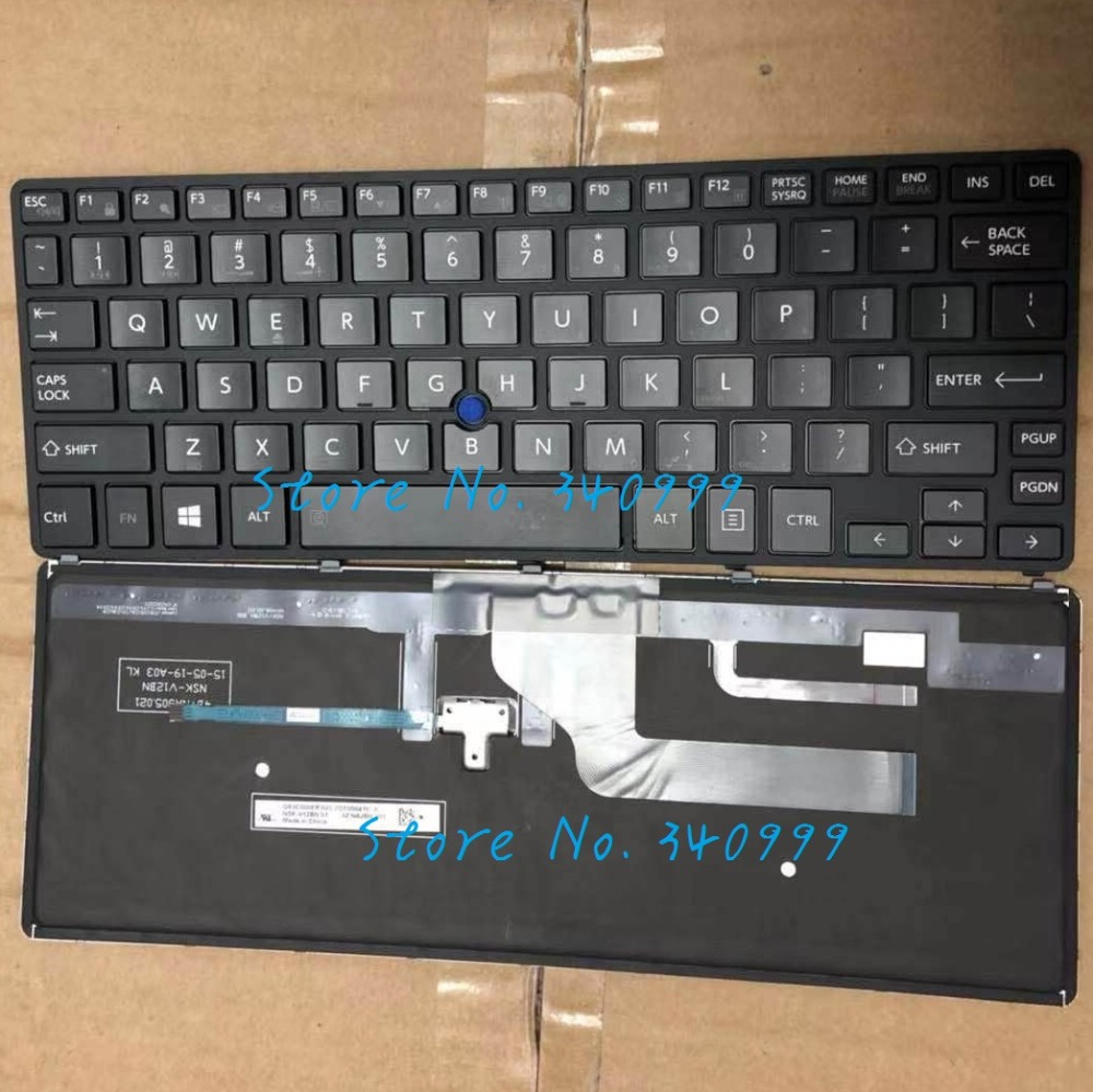 New For Toshiba Portege Z20T-B Z20T-B2110 Z20T-B2111 Z20T-B2112 Keyboard US Backlit