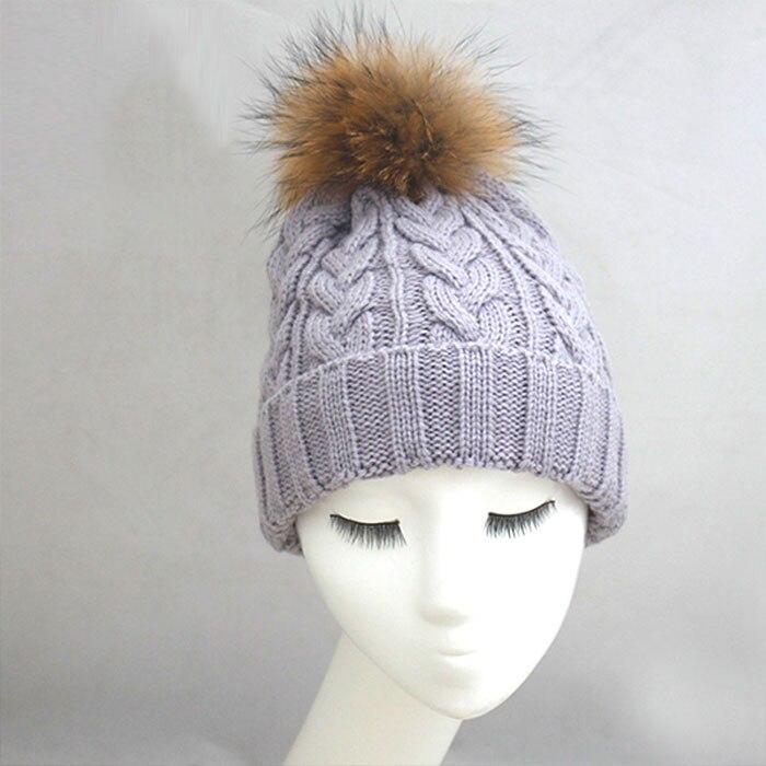 Καλώδιο πλέξιμο καπέλο γυναικών με - Αξεσουάρ ένδυσης - Φωτογραφία 4