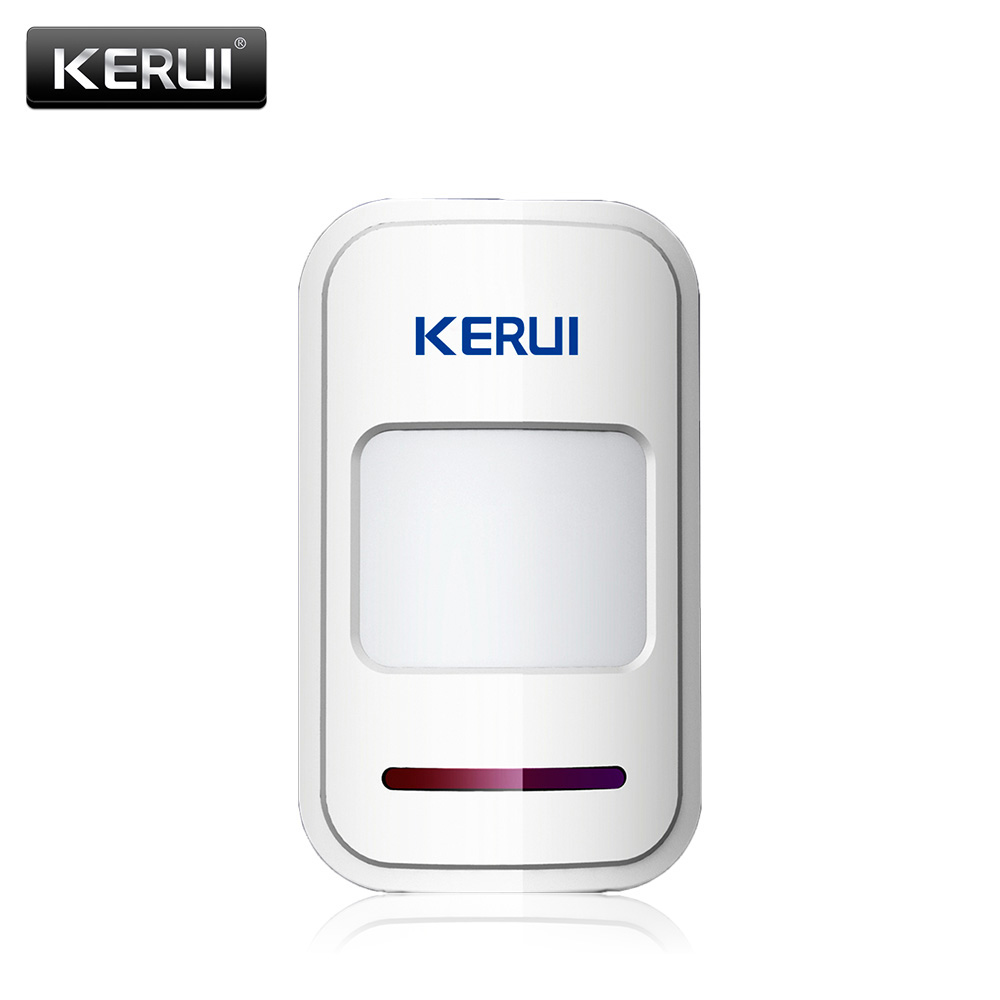 KERUI 433Mhz Wireless Intelligent PIR Motion Sensor Detector For GSM PSTN Home Alarm System without antenna Infrared