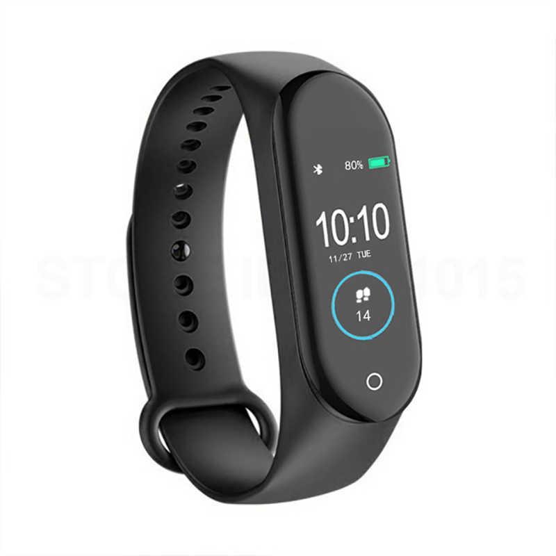 d18ec8381c1e Banda M4 pulsera inteligente salud Frecuencia Cardíaca presión ...