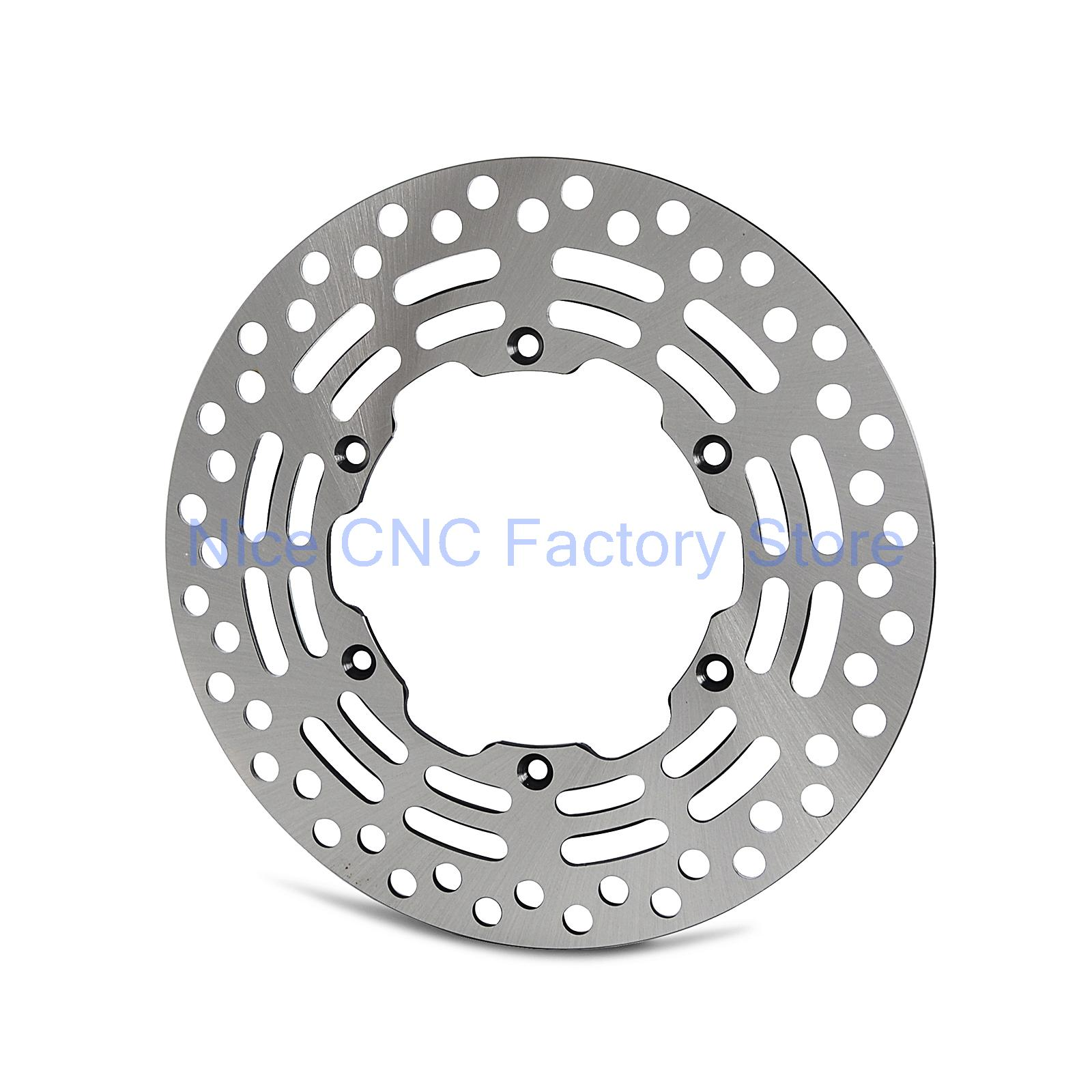 Front Brake Disc Rotor For Suzuki RM125 RM250 88-10 DR-Z250 01-07 DR-Z400 00-09 DR-Z 250 400 RMX250 89-99 Kawasaki KLX400 03-06 220mm rear brake disc rotor for suzuki rm125 rm 125 1988 1995 rm250 250 1996 1999 rmx250 rmx drz400 drz400 srz400s drz400e