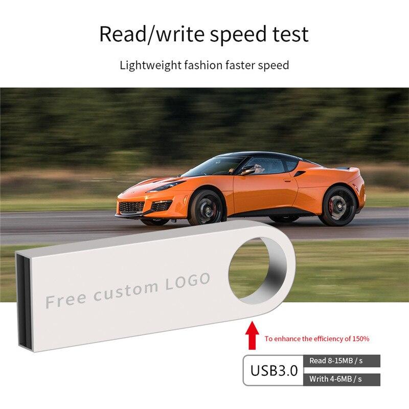 2019 usb stick high speed black key 128gb 3.0 usb flash drive 4gb 8gb 16gb 32gb 64gb flash disk waterproof metal Free print LOGO (3)