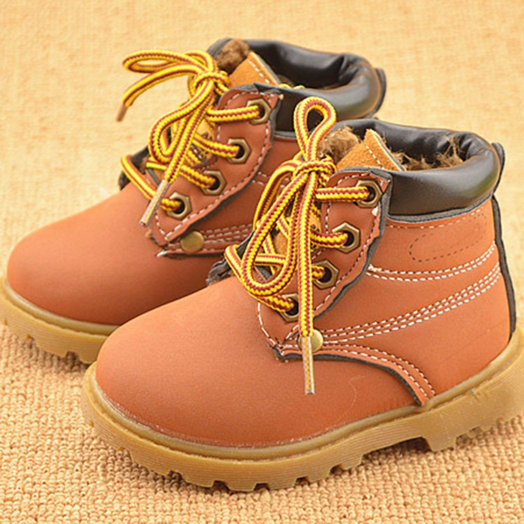 Hot-Sale-Childrens-Snow-Boots-Warm-Leather-Botas-Motorcycle-Boys-Girls-Kids-Plush-Thick-Cotton-Shoes-Waterproof-Ankle-Boot-Shoes-2
