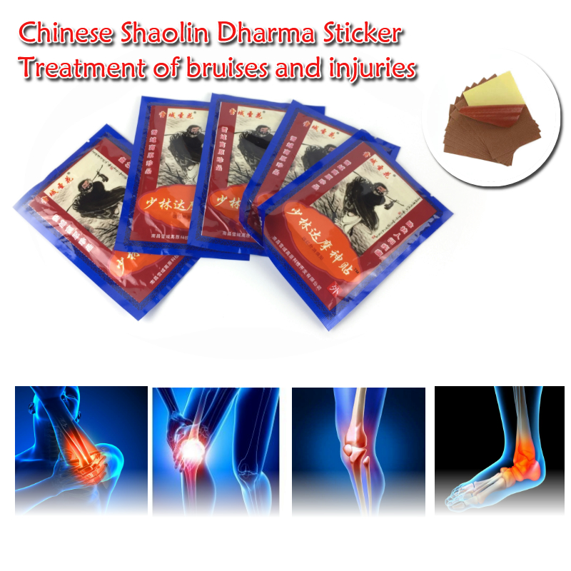 64pcs Medicated Plaster Shaolin Medicine Knee pain relief Adhesive Patch Joint Back Medicated Plaster Pain Relieving ...