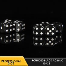 Deluxe Dice Rolling Dice Rounded Dice Stimulating Amusing 12mm 10pcs Party Club Bar Entertainment Gaming(China)