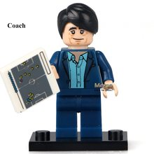 Football Team Coach KL001 Single Sale Collectible Cartoon Toys BuildingBlocks Children Christmas Gift Toys(China)