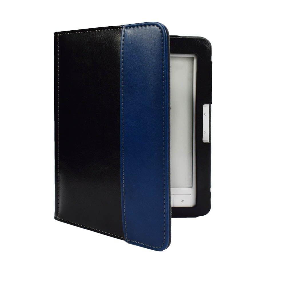 Alto Grau de couro PU Capa Para Digma E63s E63sdg R63s R63sdg 6 polegada eReader ebook Flip Folio Shell Caixa de Proteção + filme