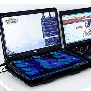 "Image 5 - Professional แล็ปท็อป Cooling Pad 13 ""14"" 15.6 ""แล็ปท็อปพัดลมสไลด์ขาตั้งแล็ปท็อปสำหรับ Notebook Cooler"