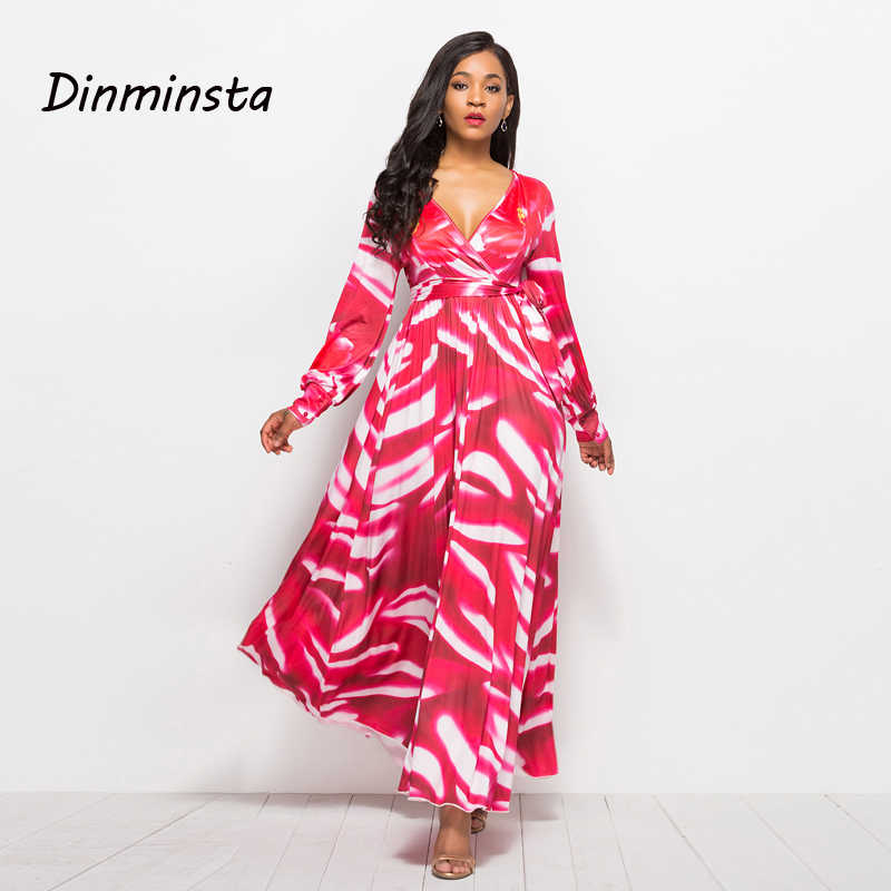ae54343bc3320 Detail Feedback Questions about Dinminsta Long Sleeve Maxi Dress ...