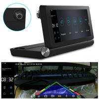 7inch Android 4.4 Touch Screen Car Auto Camera Stereo Recorder Player Navigation GPS Support Wifi Bluetooth Wide Angle Camera
