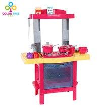 Children Pretend Toy Simulation Kitchen Set Girls Funny Toy