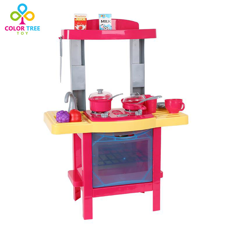 Popular toy kitchen sets buy cheap toy kitchen sets lots for Cheap kids kitchen set