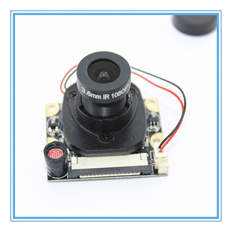 For Raspberry Pi Camera Module With Automatic IR-Cut Night Vision Camera 5MP 1080p HD Webcam For Raspberry Pi 2 3 Model B+