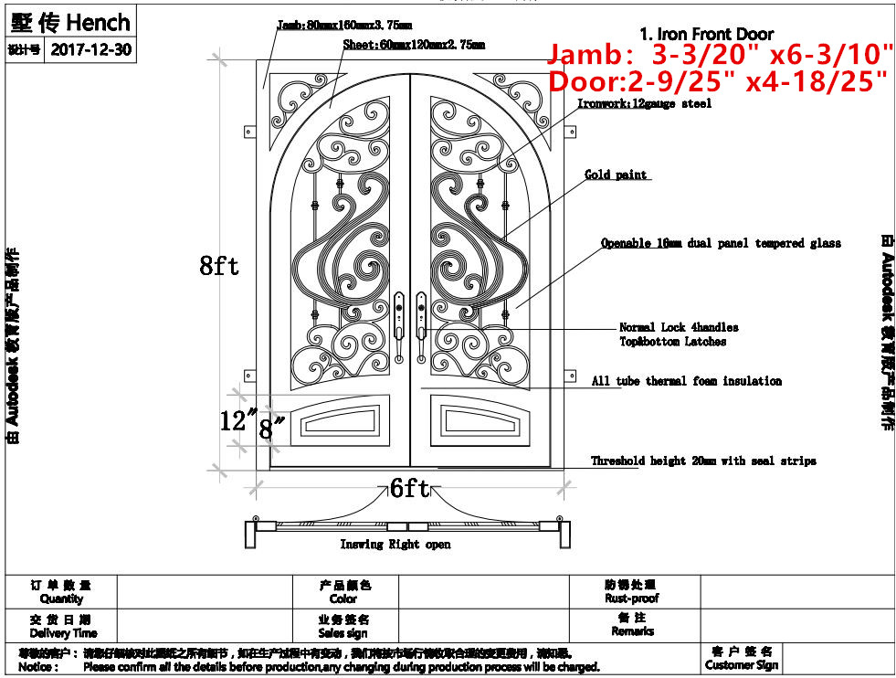 Wrought Iron Entrance Doors Melbourne Wrought Iron Doors Denver