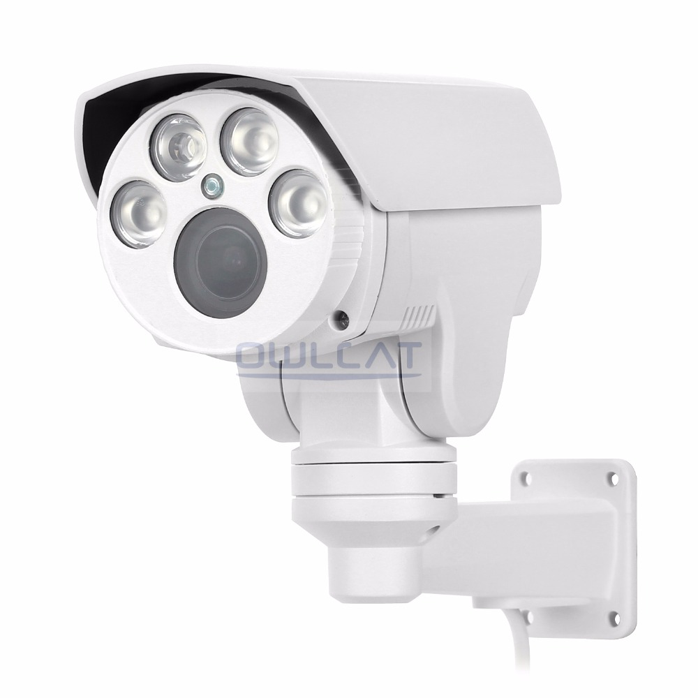 OwlCat HD IP Kamera 1080 P Bullet Kamera 10X Zoom 2.0MP Lens IR CCTV - Güvenlik ve Koruma - Fotoğraf 2