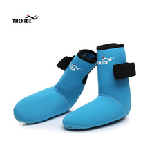 THENICE Children Snorkeling Socks Diving Sandy Beach Swimming Security Non-slip Equipment Sea Shoes