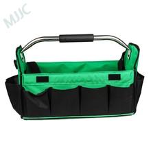 MJJC оригинальная Закрытая сумка для инструментов с холщовым покрытием и 14 карманами для инструменты для детализации и ухода за автомобилем